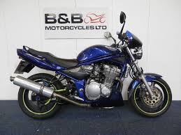suzuki bandit 600 y reg blue hpi clear lots of history in