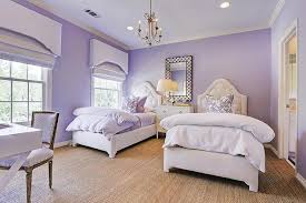 Bedrooms Painted Purple - purple shared girls bedroom transitional u0027s room