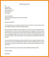 6 enquiry letter to supplier appeal leter