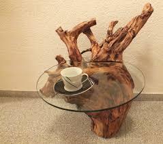 beistelltische echtholz holztisch wurzeltisch treibholz unikat beistelltisch couchtisch