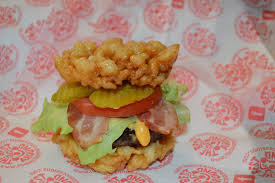 florida state fair introduces funnel cake burger more new food