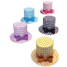 diamond party hat pattern download 5 mini top hats templates