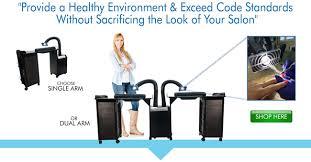 nail salon ventilation systems aerovex systems