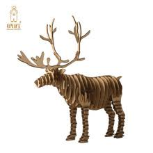 Diy Christmas Reindeer Decorations by 3d Deer Puzzle Online Shopping The World Largest 3d Deer Puzzle