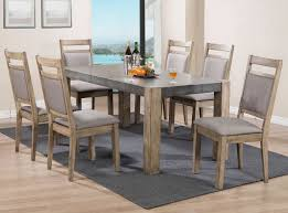 Dining Room Furniture Canada Nspire Melville Dining Table Grey 201 178dt Modern Furniture