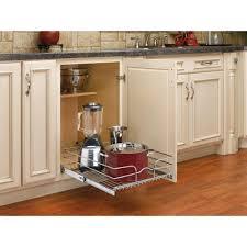 wire cabinet shelf organizer rev a shelf 7 in h x 17 75 in w x 22 in d base cabinet pull out