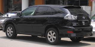 harrier lexus 2010 file toyota harrier second generation rear serdang jpg