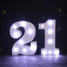led lights for dorm mini white wooden arabic numerals light led marquee light sign led