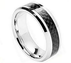 8mm ring cobalt 8mm ring witn black carbon fiber in men s rings