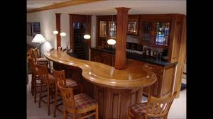 wooden brown kitchen dining and mini bar design youtube