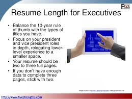 How Many Pages Resume Should Have How Long Should Your Resume Be