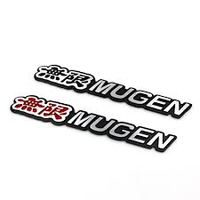 honda logo honda car symbol new fashion 3d aluminum mugen emblem chrome logo rear badge car