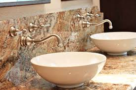 bathroom pedestal sinks ideas decor prestigious gold wall mounted faucets for luxury bathroom