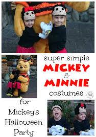 Minnie Mickey Halloween Costumes Simple Tsum Tsum Mickey U0026 Minnie Costumes Simple Blessings