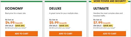 price for a hostgator vs godaddy nov 2017 which is the best web hosting