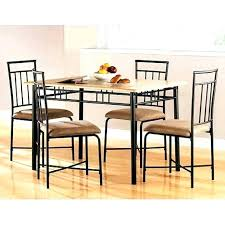 walmart dining room sets kitchen folding stool walmart 4 chair dining table metal dining