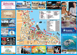 Kos Greece Map by Re Release Of The 2nd Version Of The Tourist Guide Map Of Kos From