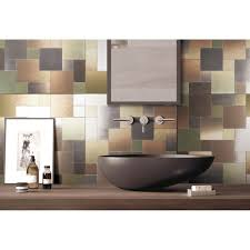metal backsplash tiles for kitchen or bath 12x12 in 1 box 9 7 sq ft