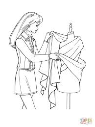 designing a dress coloring page free printable coloring pages