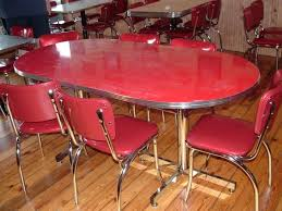 dining table retro dining table and chairs nz 1950s chrome