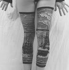 tattooed stocking legs by thieves of tower artfido u0027s blog