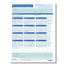 paid time off request and approval calendar