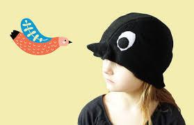 Bird Halloween Costume Kids Black Bird Halloween Costume Hat Kids Costume Swallow