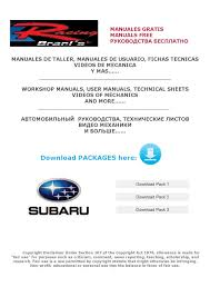 lista de packages subaru jpg