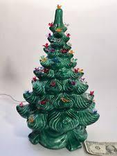 ceramic christmas tree with lights vintage ceramic christmas tree ebay