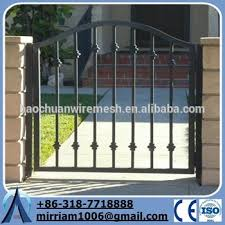 wrought iron gate cast iron fence ornaments manufacturer buy