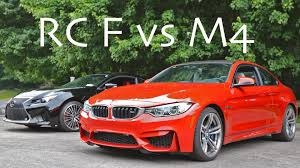 lexus rc f manual lexus rc f vs bmw m4 rolling drag race youtube