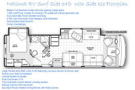 Class A Floor Plans by 100 Bus Motorhome Floor Plans Floorplans Classic Airstream