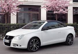white volkswagen the new minimalism volkswagen eos white knight edition