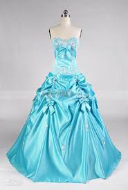 2015 sweetheart blue prom dresses floor length lace up corset