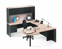 Corner Workstation Desk by Suburban Stationers U Workstations