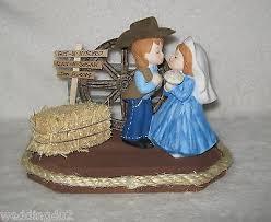 western wedding cake topper farrier horse shoer git n hitched