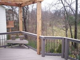 Pergola And Decking Designs by Exterior Design Exciting Behr Deckover Colors With Wood Deck