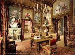 castle dining room file neuschwanstein dining room 00184u jpg wikimedia commons