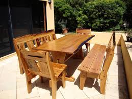 Rustic Wood Patio Furniture The Best Wood Outdoor Furniture Home Decor And Furniture