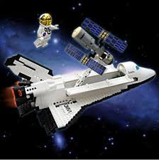 space shuttle astronaut space shuttle satellite astronaut assembly blocks toy evtoys com