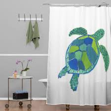 laura trevey sea turtle shower curtain sea turtles turtle and the easiest way to revamp your bathroom is to switch out your shower curtain bring the tropical feel into your home with these beach themed shower curtains