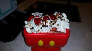 Mickeys Kitchen Sink At Plaza Ice Cream Parlor Picture Of Plaza - Kitchen sink ice cream sundae