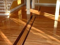 1 oak with a walnut border ozark hardwood flooring