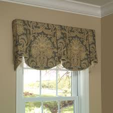 sheffield valance allows you to feature two pattern motifs on the