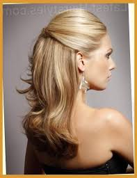 partial updo hairstyles for medium length hair