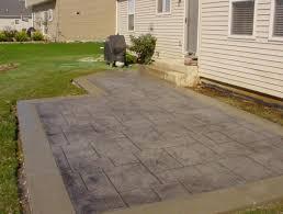 patio u0026 pergola concrete patio ideas for small backyards