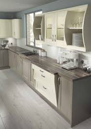cuisine taupe et gris kitchens cuisine taupe et bois mat with gris blanc sans poignée ikea