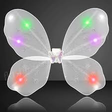 light up fairy wings light up wings blinking led white fairy wings sparkle as