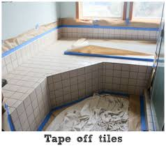 How To Get Paint Off Walls by How To Paint Your Old Outdated Tiles
