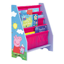 peppa pig sling bookcase u2013 next day delivery peppa pig sling